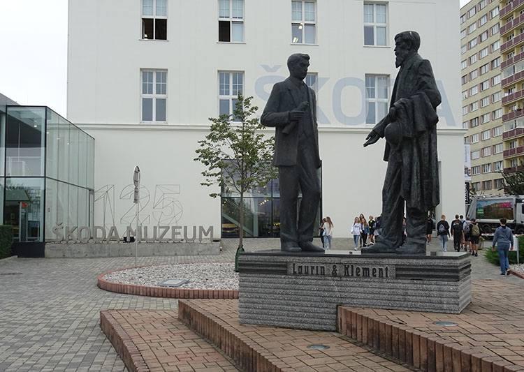 Mladá Boleslav, miasto samochodów Škoda
