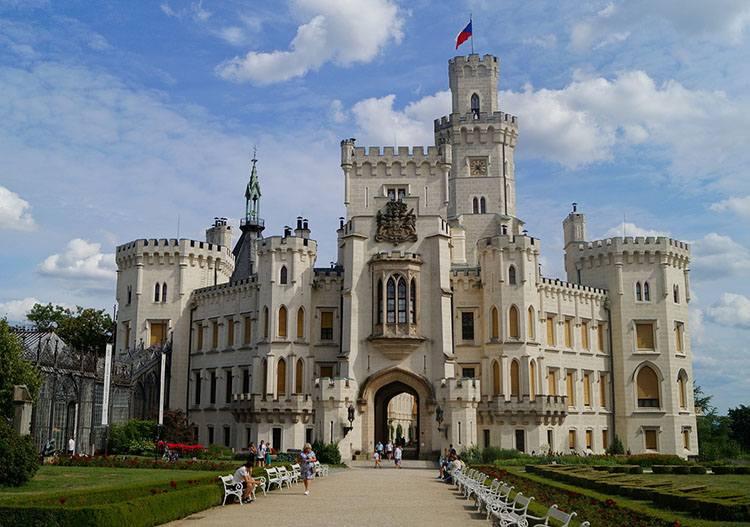 pałac Hluboka Czechy atrakcje zamki pałace