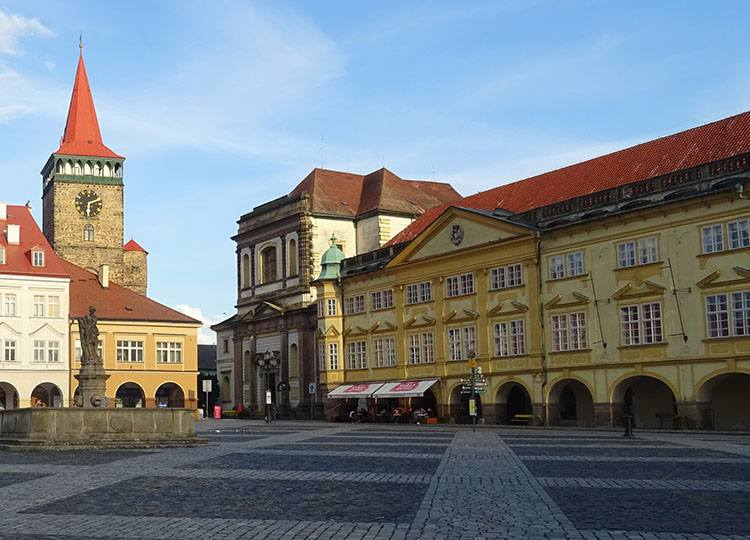 Jiczyn (Jičín) Czechy i rozbójnik Rumcajs