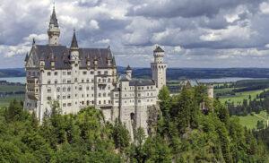 Neuschwanstein, najsłynniejszy zamek Niemiec