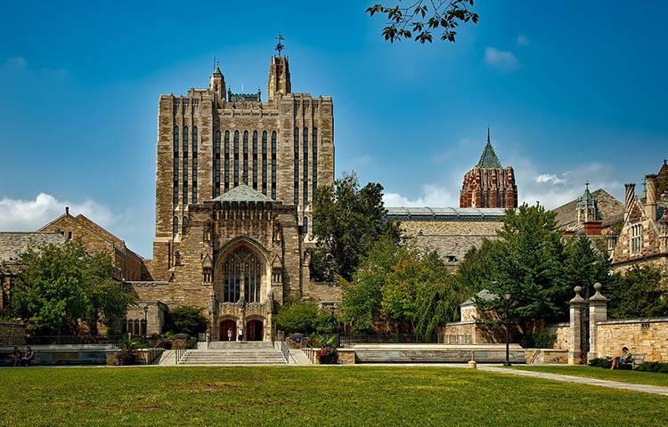 Yale uniwersytet Connecticut ciekawostki