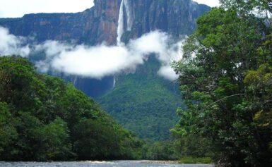 Salto Angel, największy wodospad świata