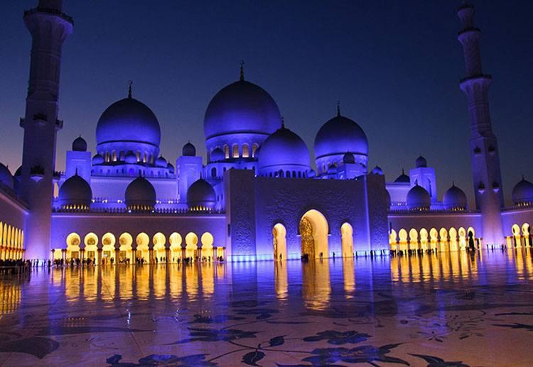 Abu Zabi. Wielki Meczet Szejka Zayeda
