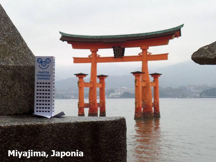 Miyajima Japonia podróże Skandynawia ciekawostki