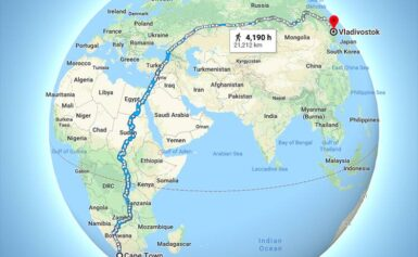 Najdłuższa piesza trasa świata