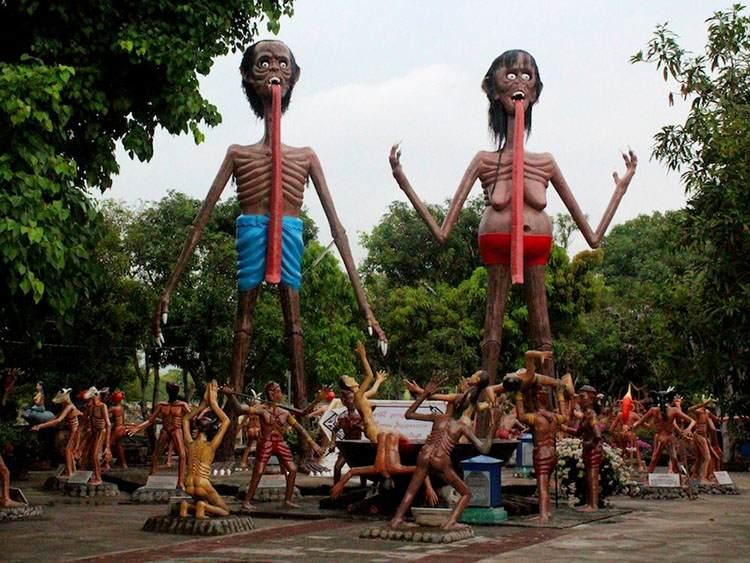 Wang Saen Suk (Hell Garden) w Tajlandii