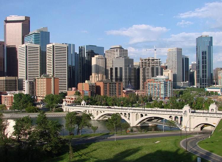 Kanadyjskie miasto Calgary