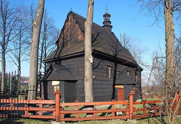 kościół św. Wojciecha Szymbark ciekawostki zabytki