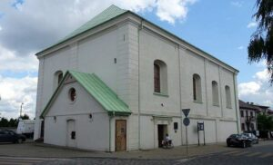 Dawna synagoga w Chmielniku, woj. świętokrzyskie
