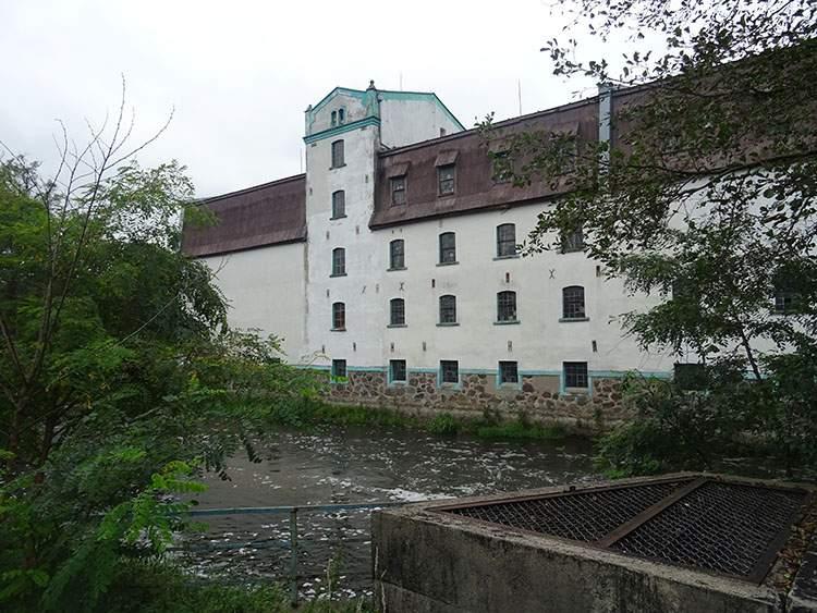 Bratian. Ruiny zamku krzyżackiego
