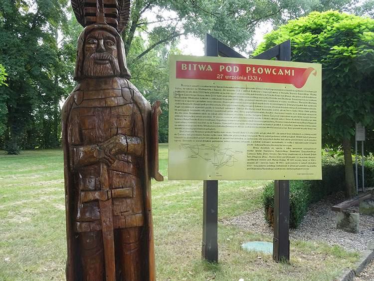 Płowce atrakcje bitwa pod Płowcami historia Krzyżacy