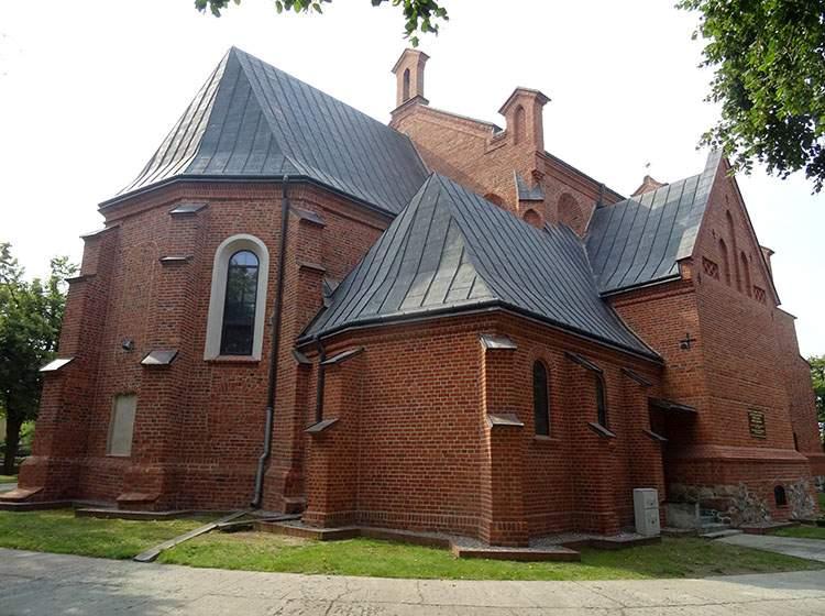 fara kościół NMP Radziejów atrakcje zabytki