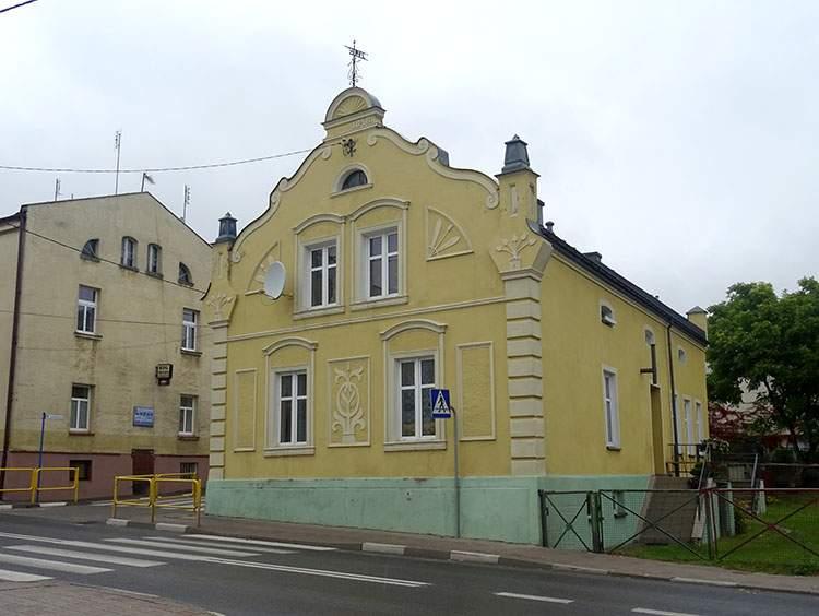 kamienica centrum Lidzbark atrakcje co zobaczyć
