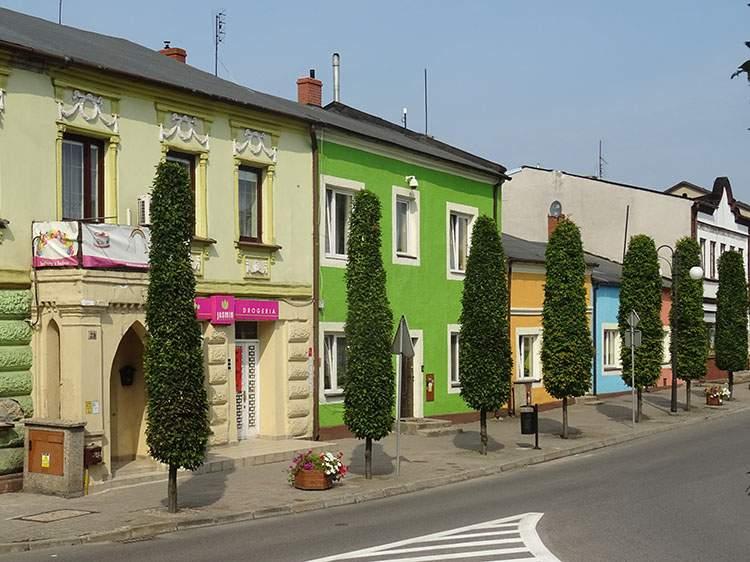 kamienice rynek Radziejów co zobaczyć kujawsko-pomorskie
