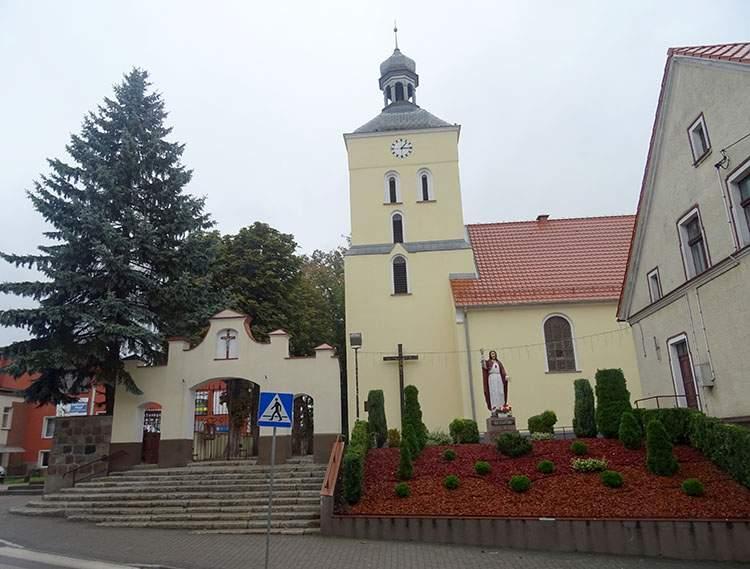 kościół św. Wojciecha Lidzbark atrakcje ciekawostki zabytki