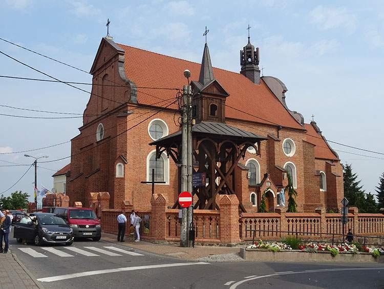 kościół franciszkanów Radziejów atrakcje zabytki