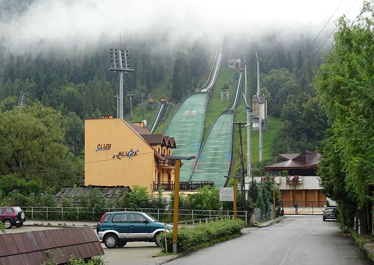 skocznia narciarska Skalite Szczyrk ciekawostki atrakcje